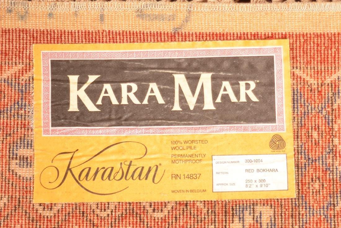 Modern Karastan Bokhara Pattern Room size Rug. - 4