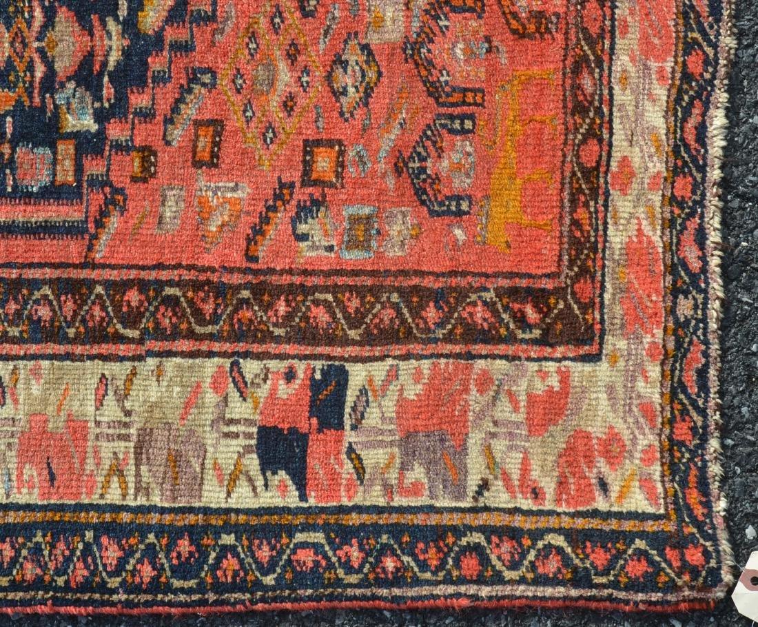 Antique Northwest Persian Center Medallion Area Rug. - 2