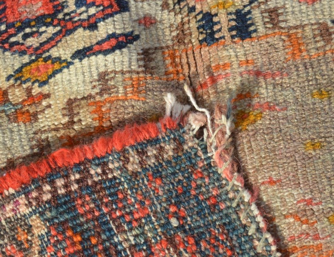 Antique Northwest Persian Center Medallion Area Rug. - 5