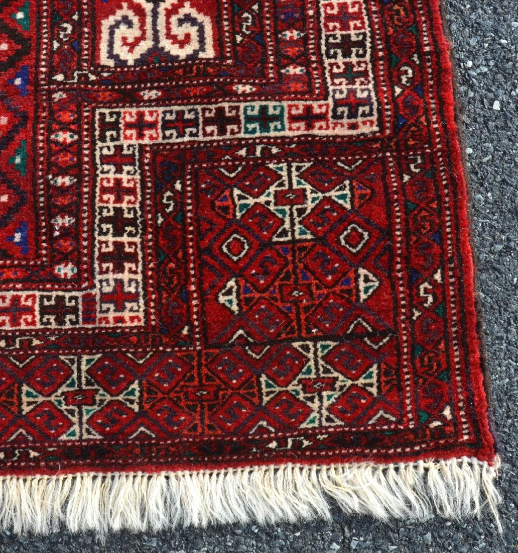 Modern Geometric Pattern Oriental Prayer Rug. - 2