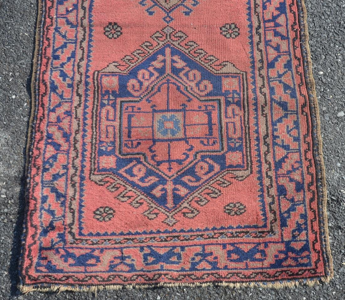 Antique Medallion Pattern Oriental Runner. - 2