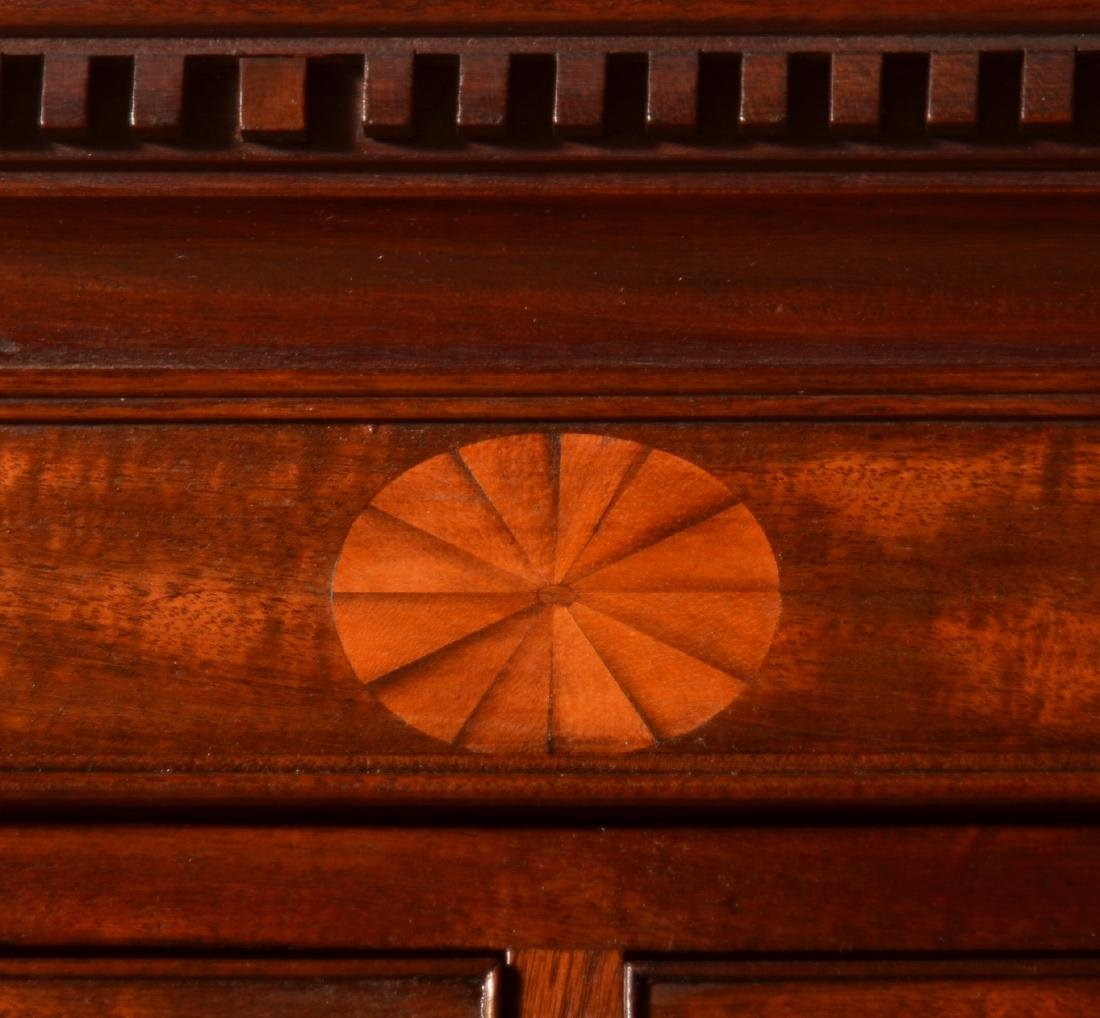 Chippendale Mahogany Inlaid Chest on Chest. - 4