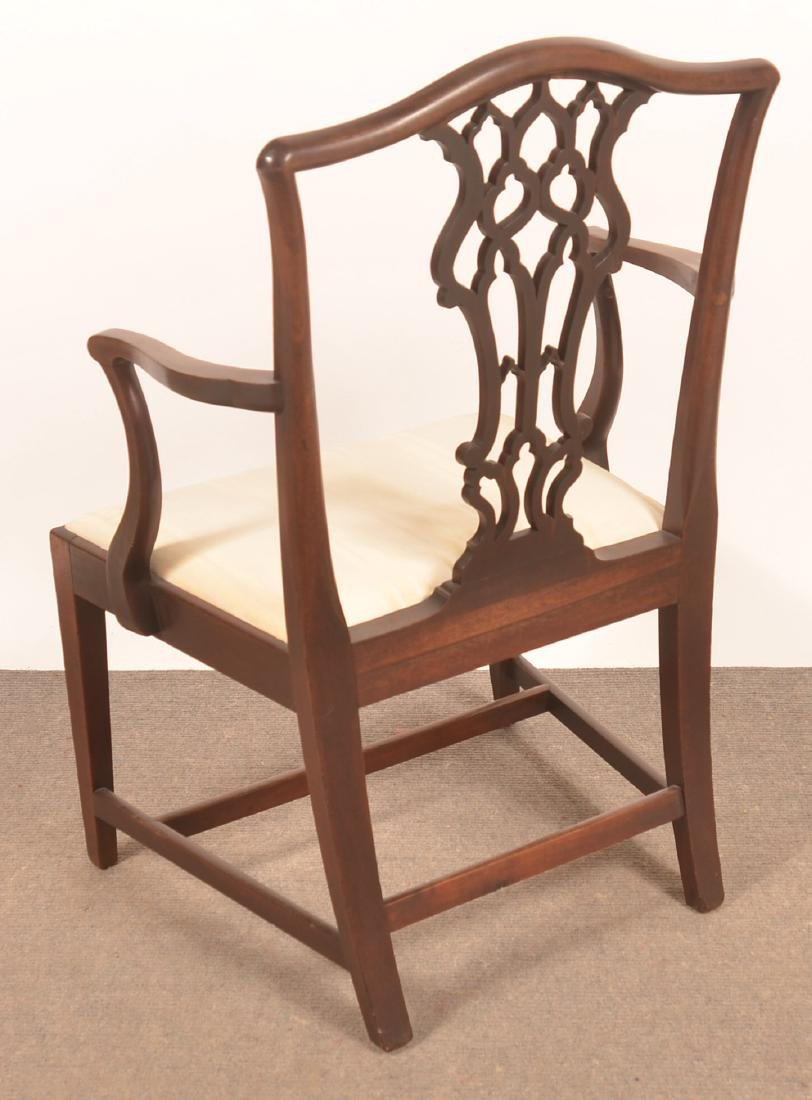 Chippendale/Federal Transitional Mahogany Armchair. - 3