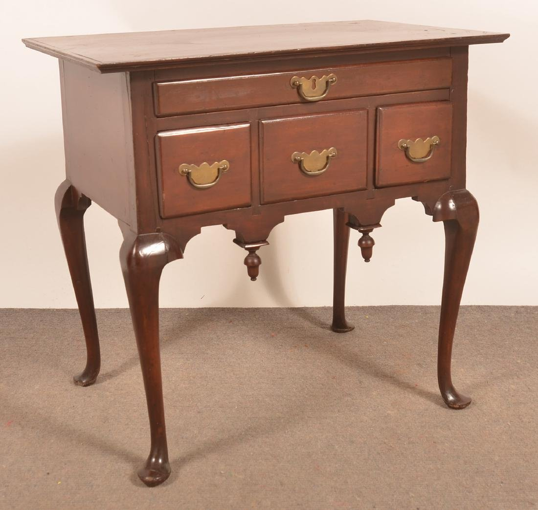 New England Queen Anne Cherry Lowboy.