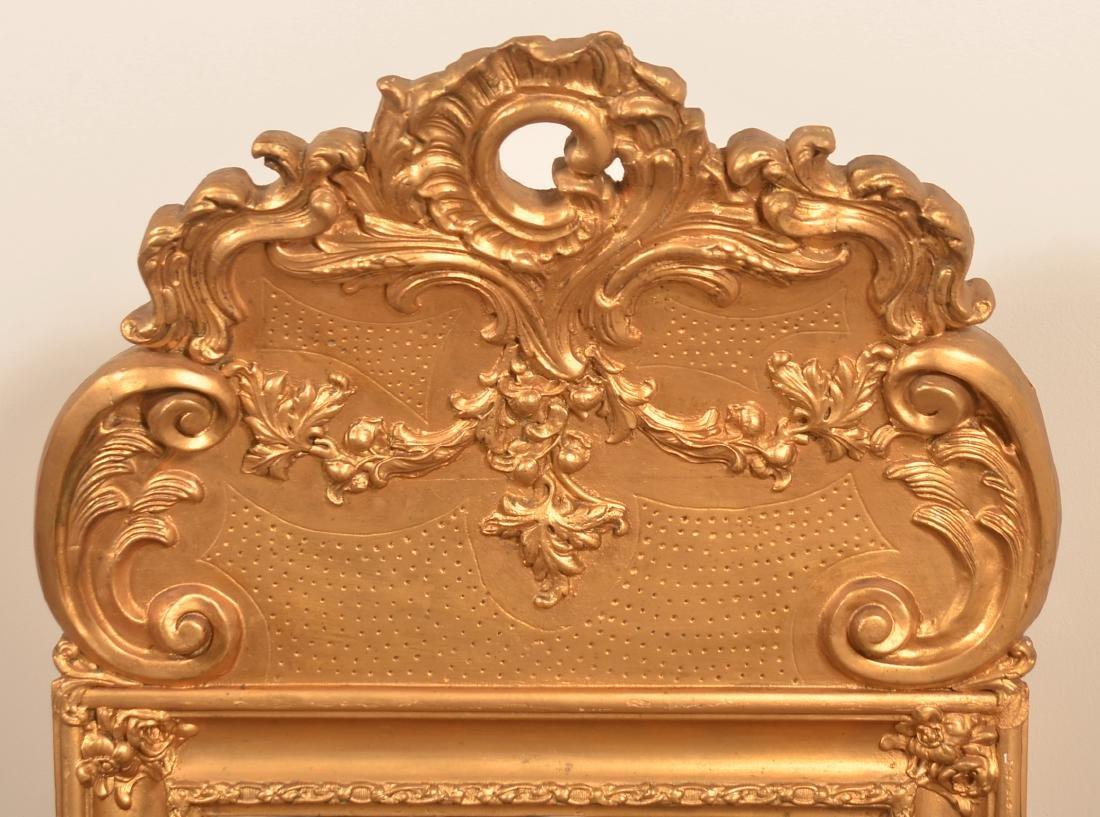 19th Century Ornate Gilt Frame Mirror. - 2