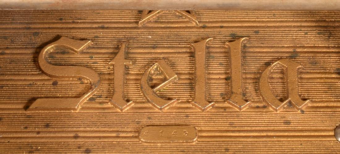 Stella Grand Combination Disc Player Music Box. - 4