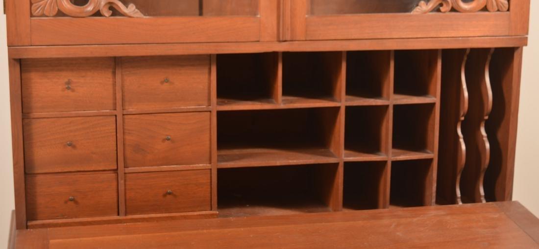 Victorian Walnut Plantation Desk. - 3