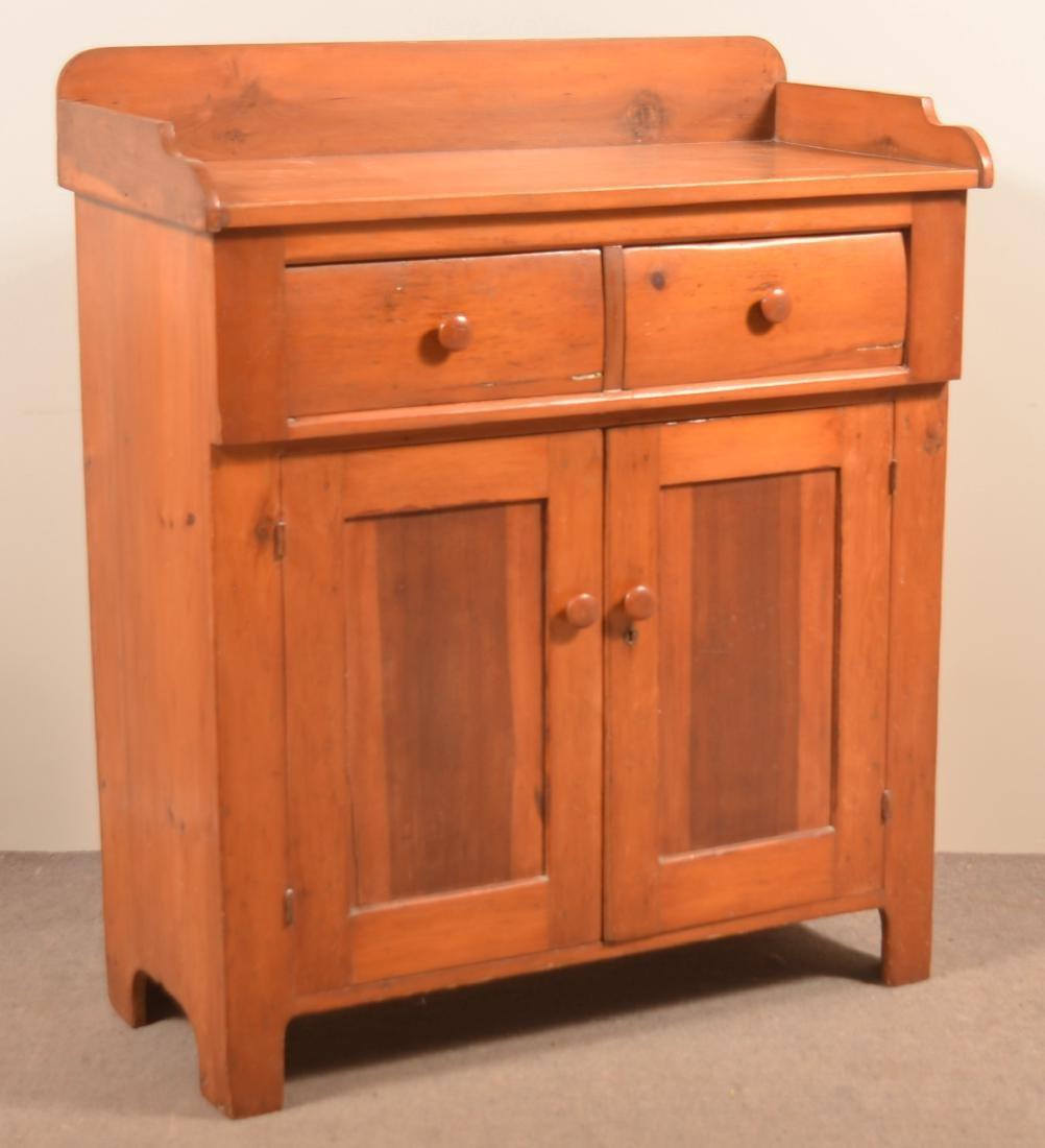 Pennsylvania 19th Century Softwood Jelly Cupboard.