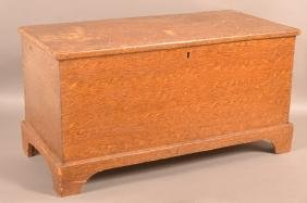 PA Grain Dec. Softwood Miniature Blanket Chest.