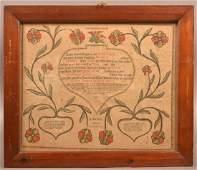 1809 Berks Co PA Printed Taufschein