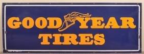 """Goodyear Tires"" Porcelain Advertising Sign."