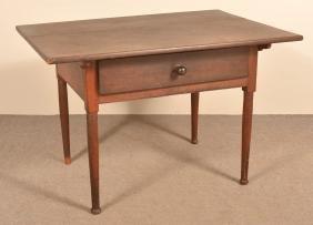 PA Early 19th Century Walnut Farm Table.