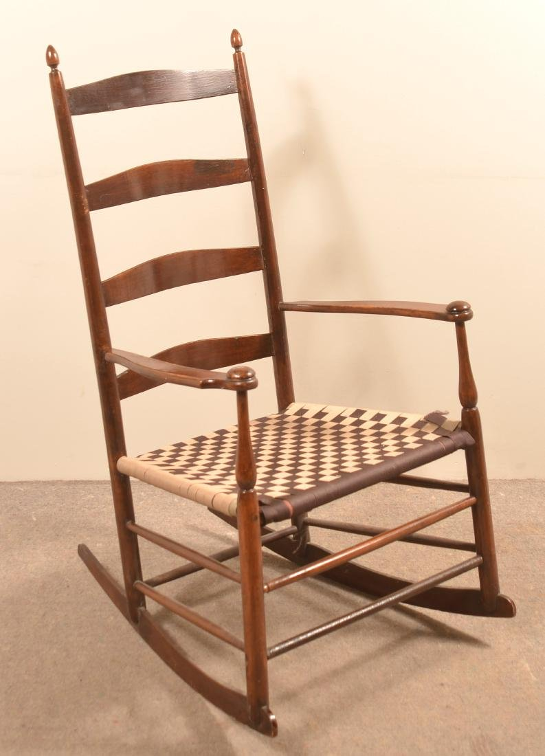 Rocking Chair Attributed to Mt Lebanon NY