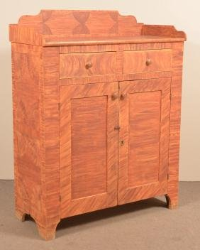 Pennsylvania 19th Century Softwood Jelly Cupboard.