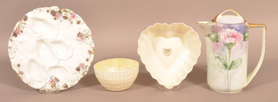 Four Various Pieces of Porcelain.