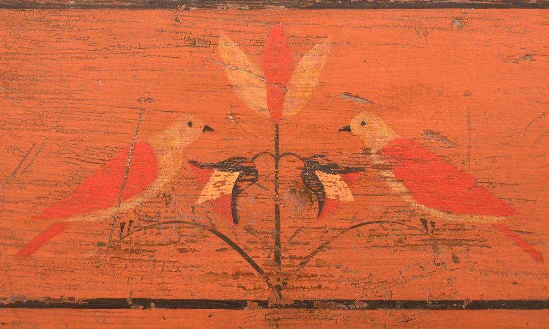 Mahantango Valley Paint Decorated Chest of Drawers. - 3