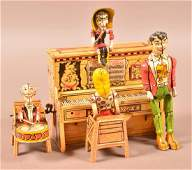 L'il Abner Dogpatch Band Tin Litho Wind-Up Toy.