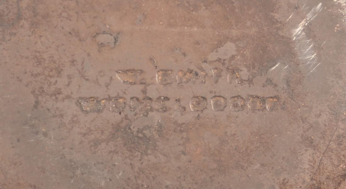 W. Smith, Womelsdorf, PA Redware Plate. - 3