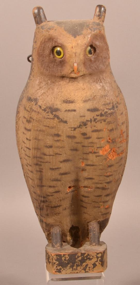 Herter's Company Great Horned Owl Decoy.