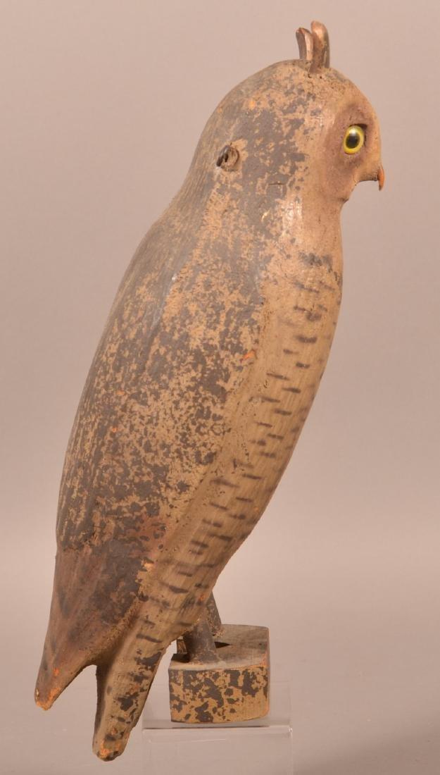 Herter's Company Great Horned Owl Decoy. - 2