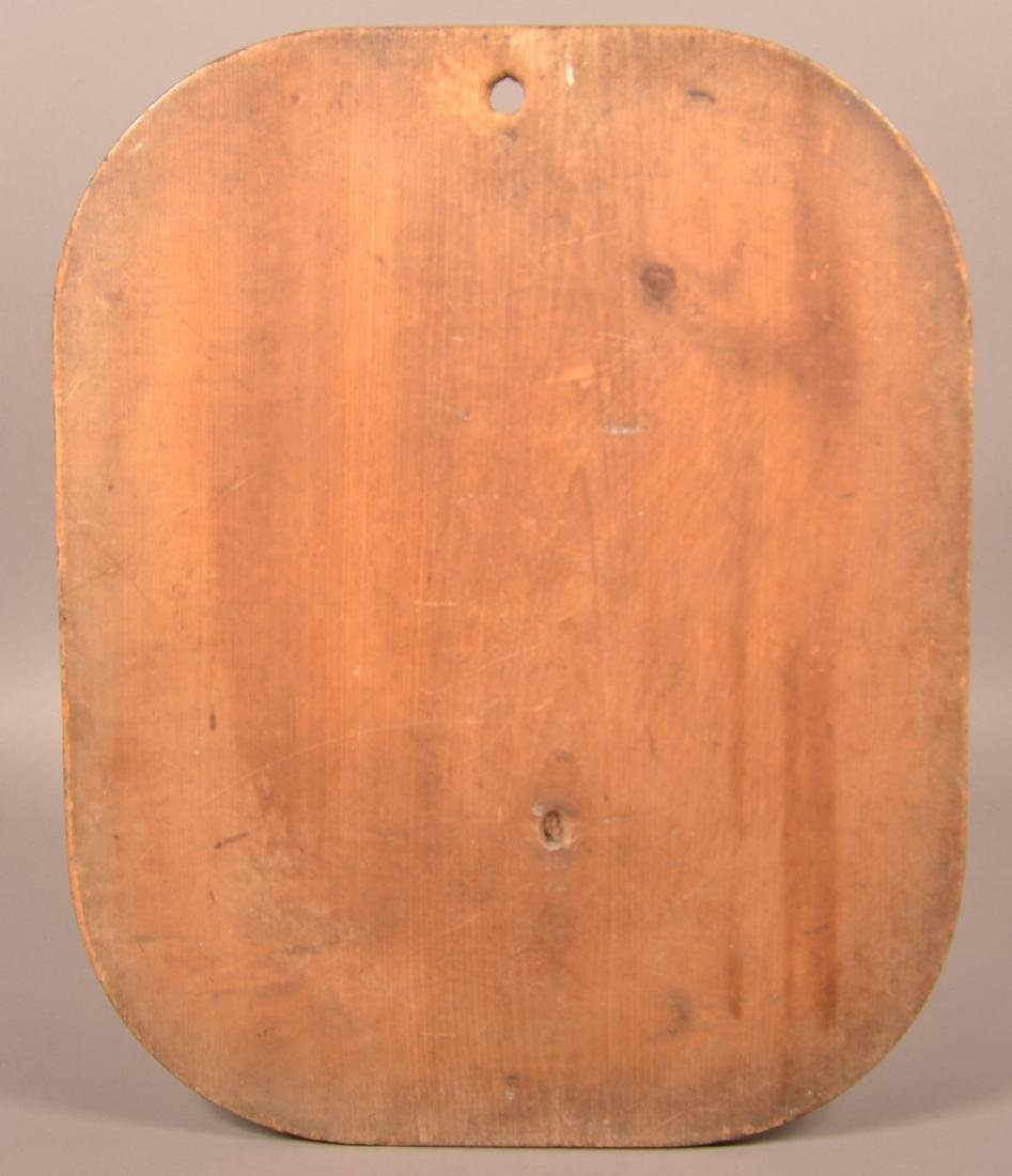 Antique Softwood Dough Box and Pie Board. - 4