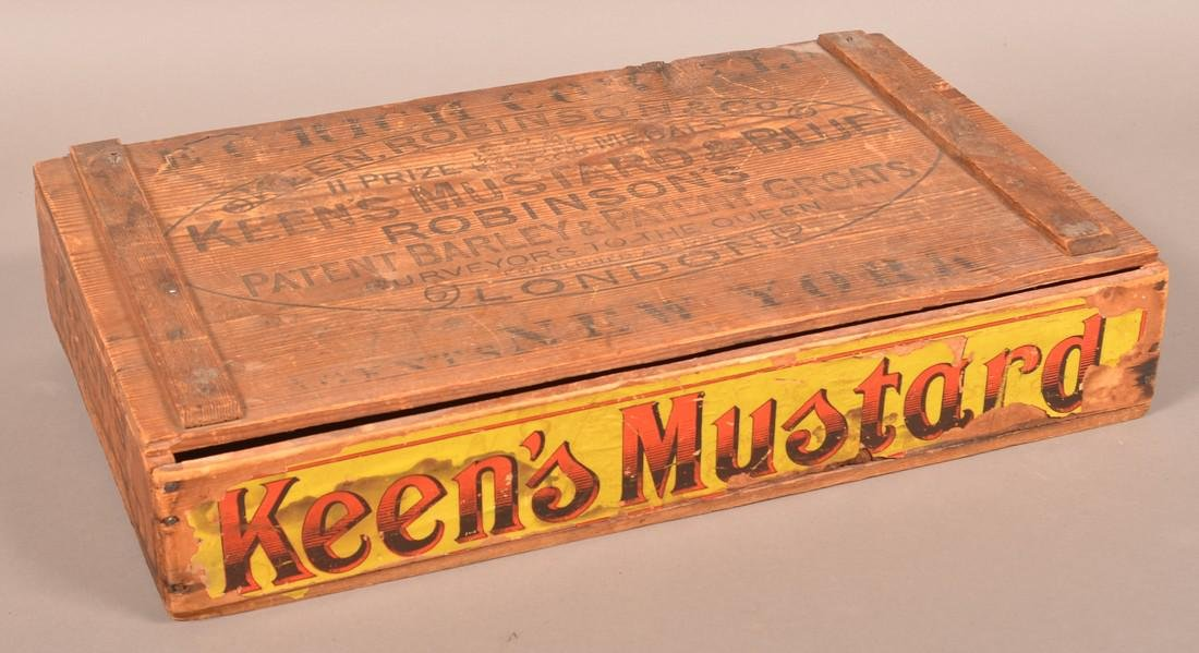Two Antique Advertising Boxes. - 2