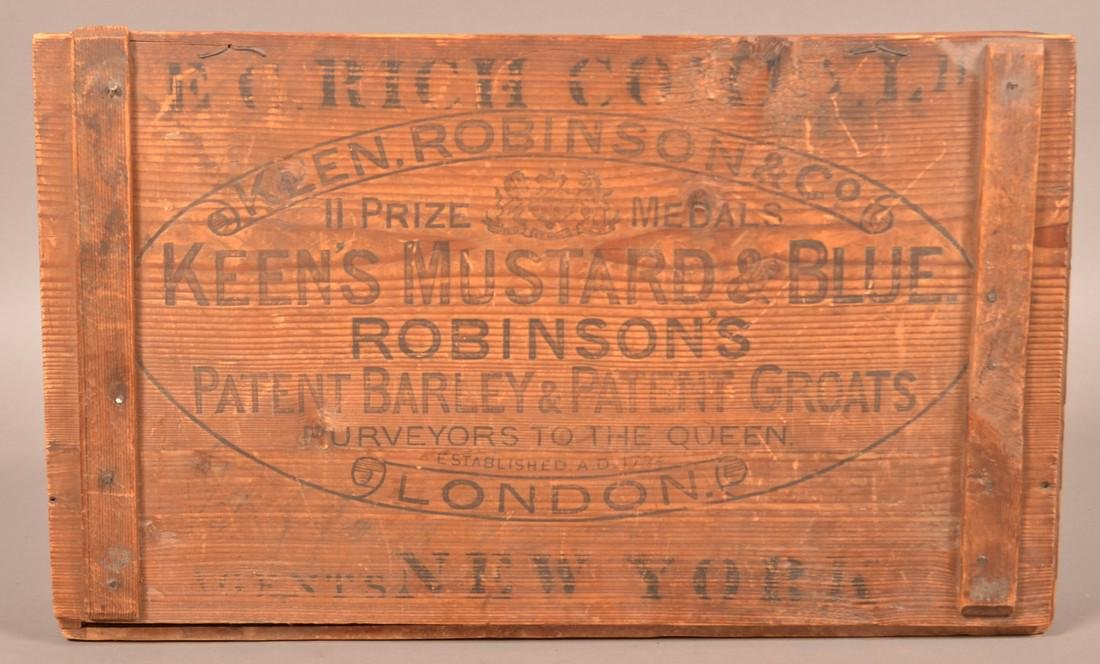 Two Antique Advertising Boxes. - 3