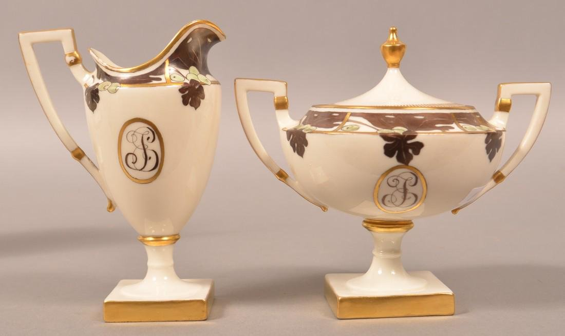 Belleek Porcelain Four Piece Tea Service. - 3