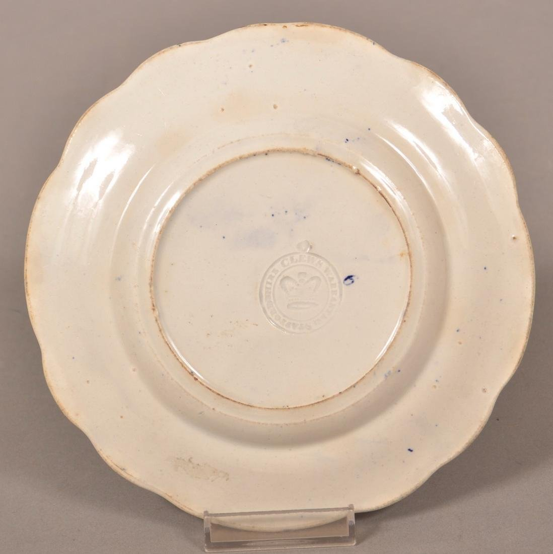 """Historical Staffordshire Blue """"States"""" Plate. - 2"""