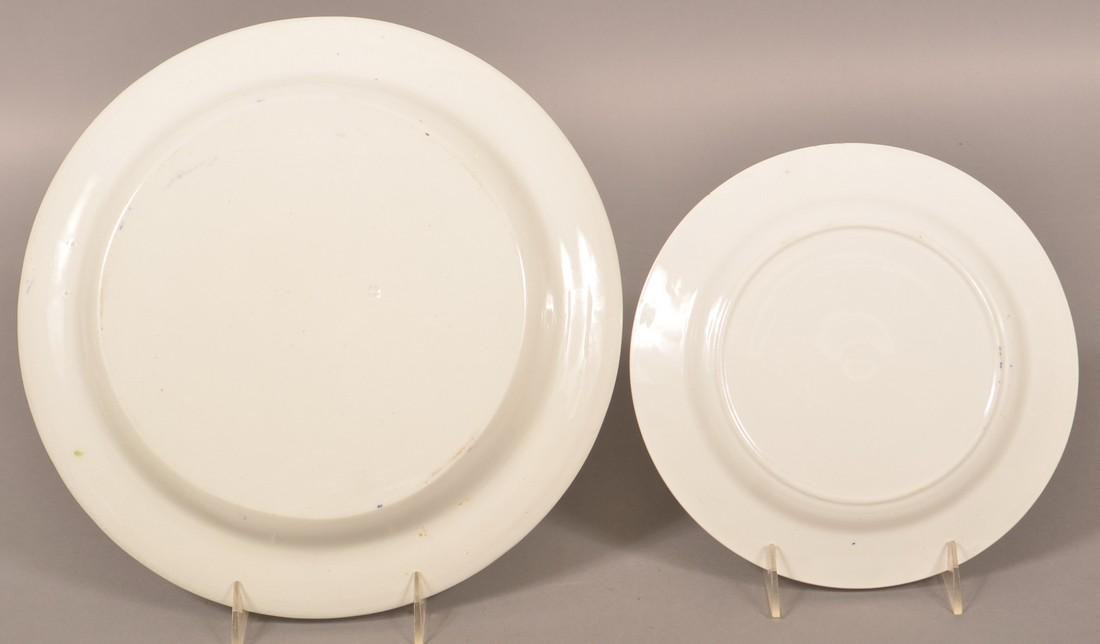 2 Rabbitware with Frog Ironstone China Plates. - 2