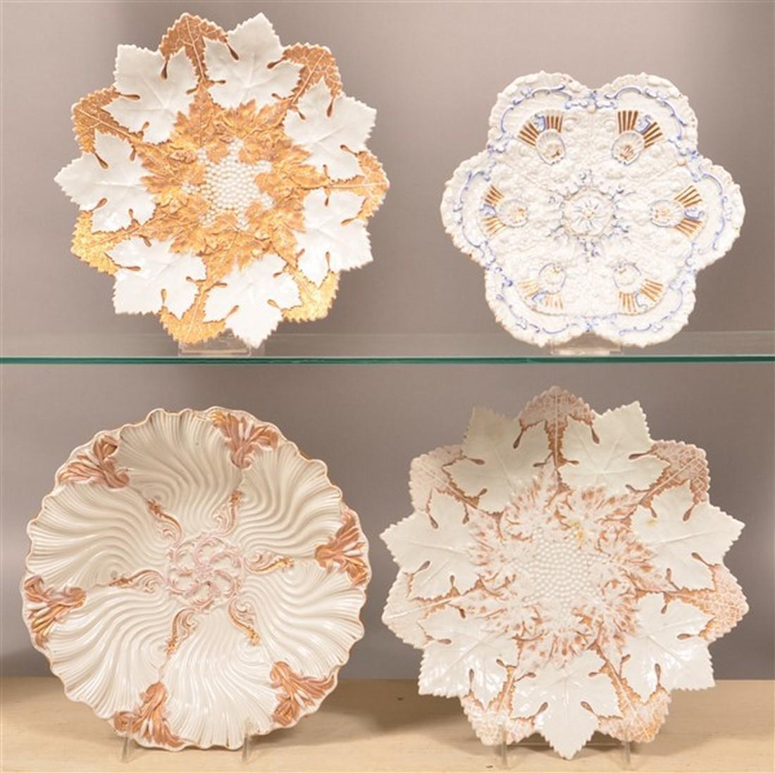 Four Various Meissen Porcelain Bowls.