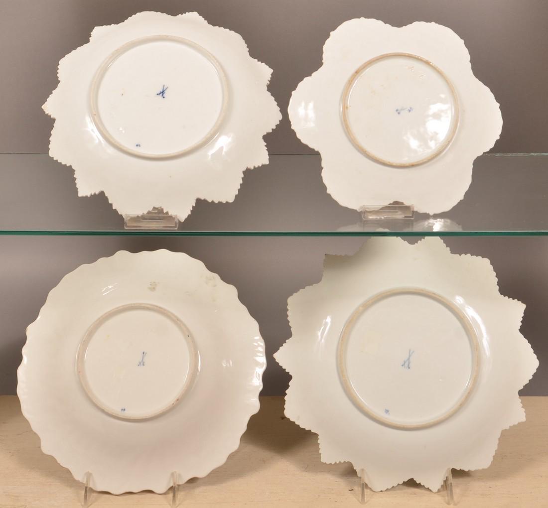 Four Various Meissen Porcelain Bowls. - 2