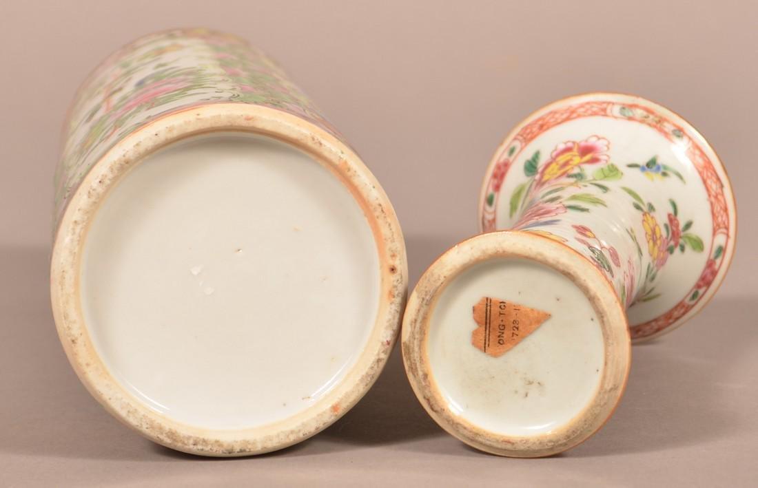 Two Oriental Porcelain Vases. - 3