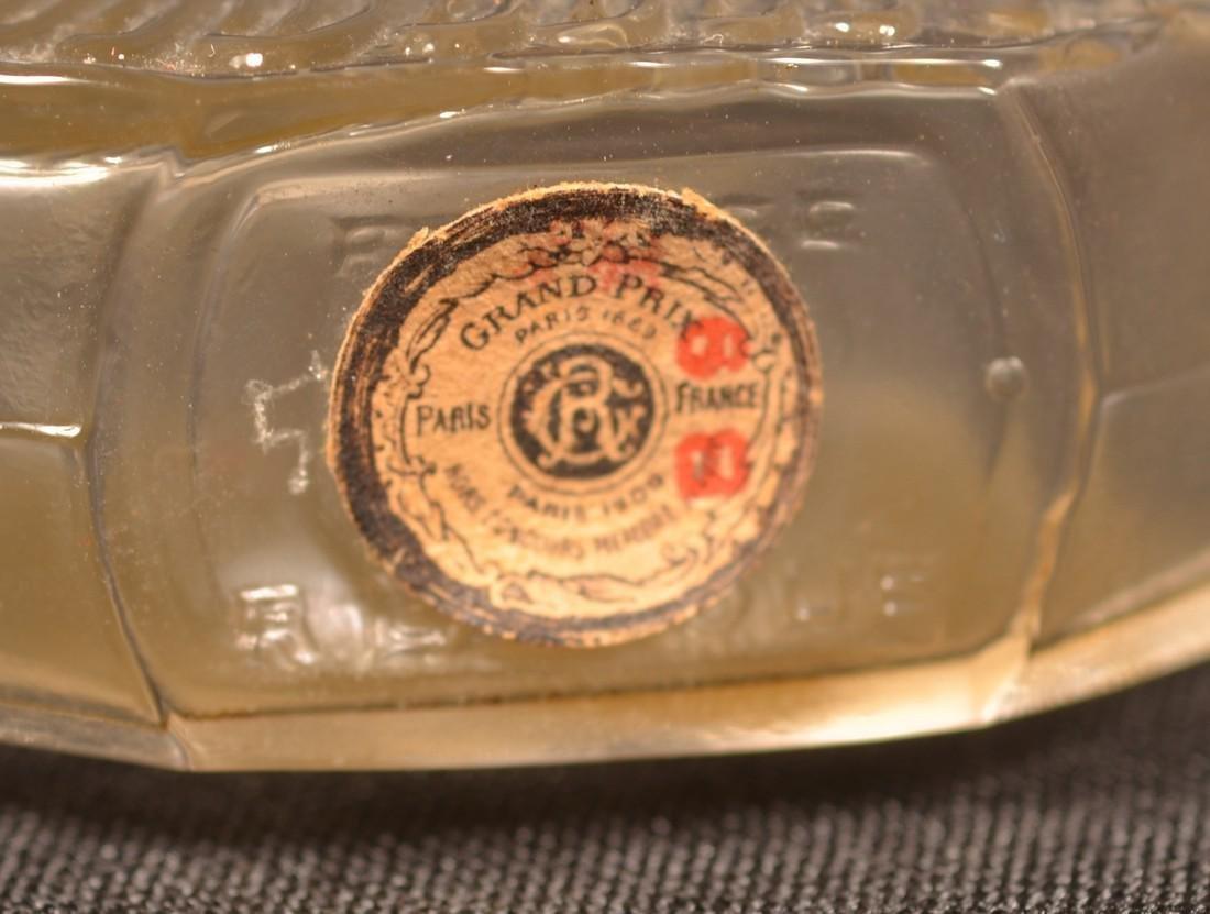 "Rare R. Lalique ""PAVOTS"" Perfume with  Box. - 5"