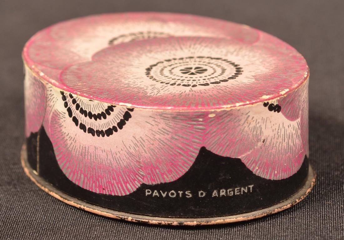 "Rare R. Lalique ""PAVOTS"" Perfume with  Box. - 6"