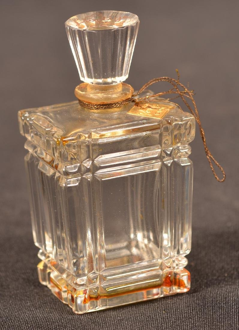 Two Baccarat, France Crystal Perfume Bottles. - 2