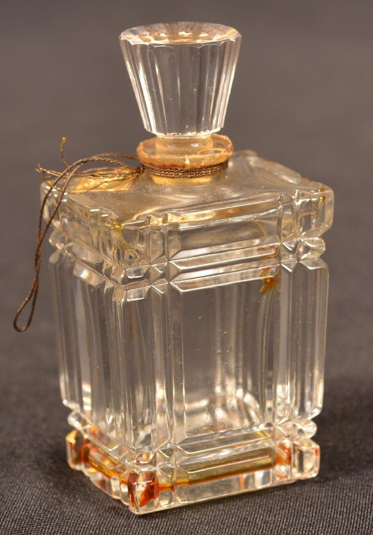 Two Baccarat, France Crystal Perfume Bottles. - 3
