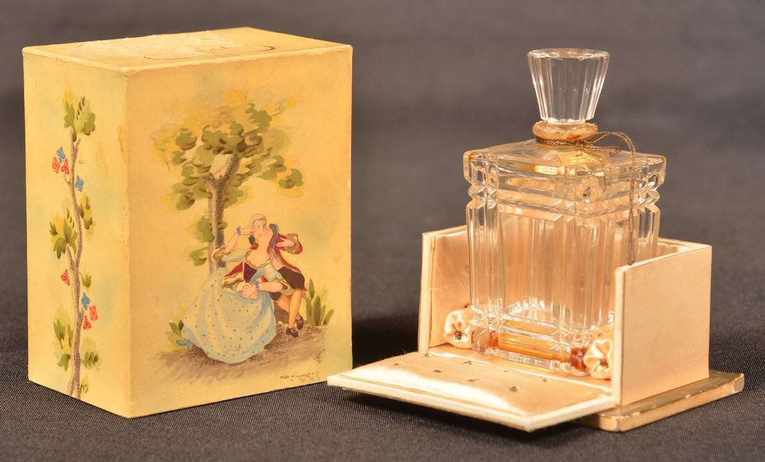 Two Baccarat, France Crystal Perfume Bottles. - 5