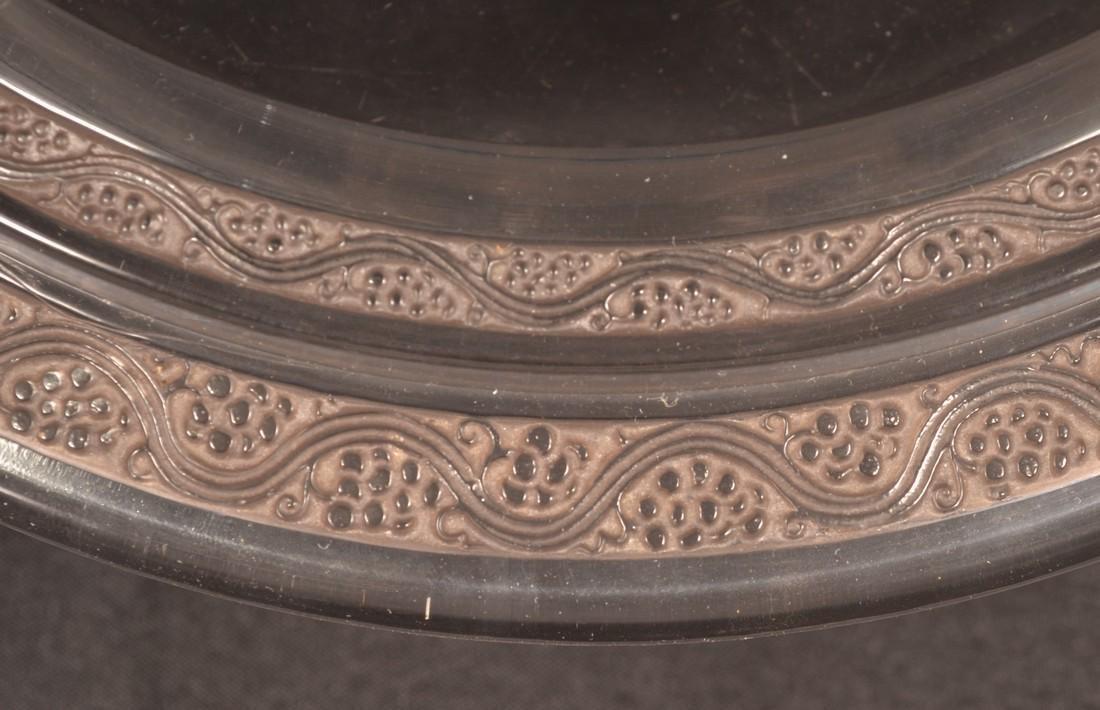 """Lalique """"Ricquewihr' Art Deco Console Bowl. - 2"""