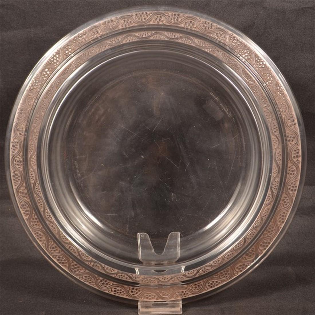 """Lalique """"Ricquewihr' Art Deco Console Bowl. - 3"""