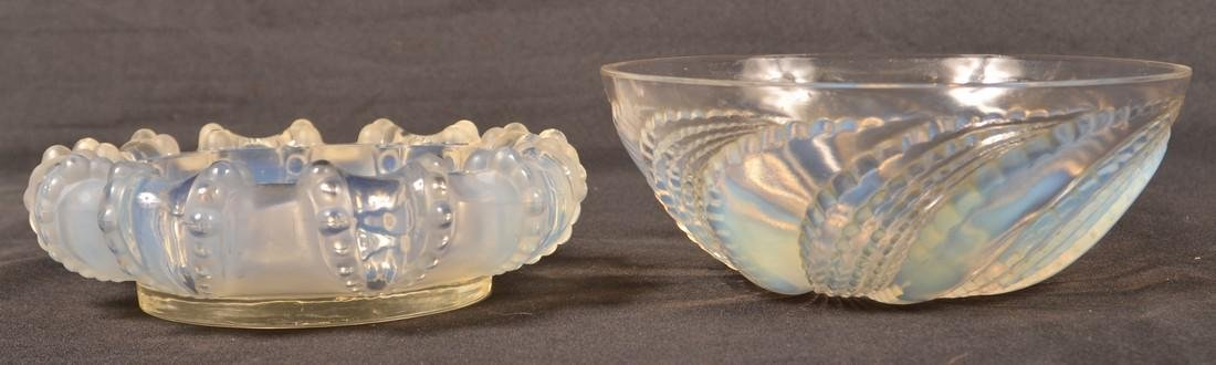 Four Various Pieces of Lalique Crystal. - 2