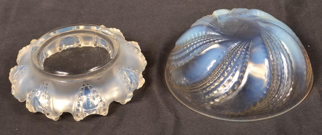 Four Various Pieces of Lalique Crystal. - 3