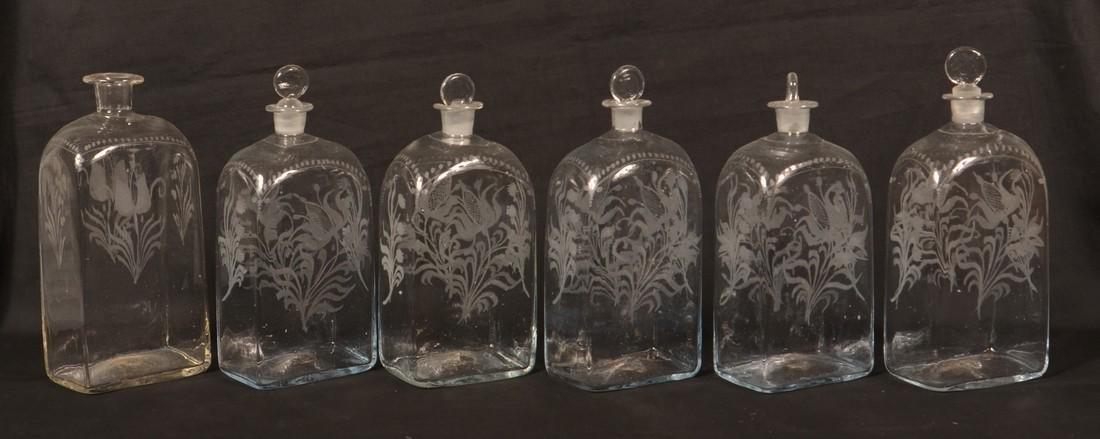 19th Century Oak Case Liquor Casket. - 3
