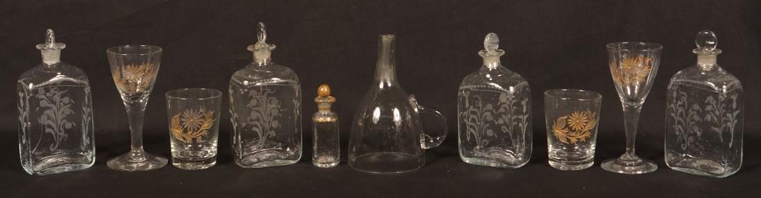 19th Century Oak Case Liquor Casket. - 5