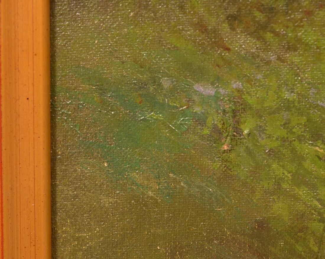 Ben Austrian Oil on Canvas Landscape Painting. - 7