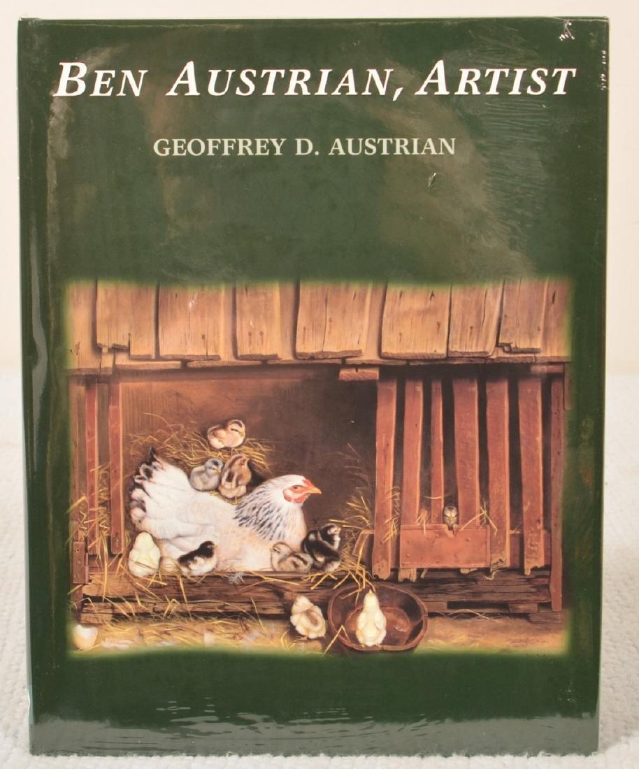 Ben Austrian Oil on Canvas Landscape Painting. - 8