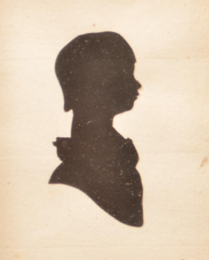Three 19th Century Hollow-cut Silhouettes. - 2