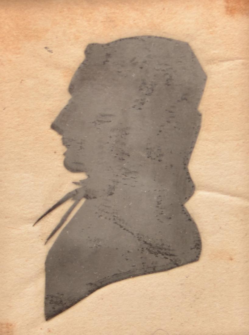 Three 19th Century Hollow-cut Silhouettes. - 3
