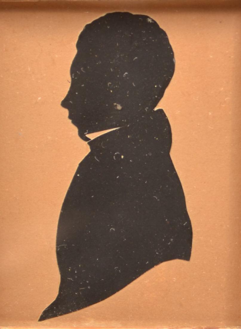 Three 19th Century Hollow-cut Silhouettes. - 4