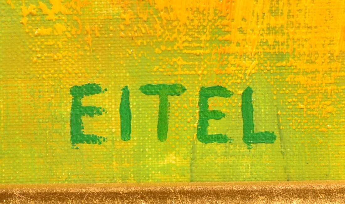 Jacques Eitel Oil on Canvas Landscape Painting. - 3
